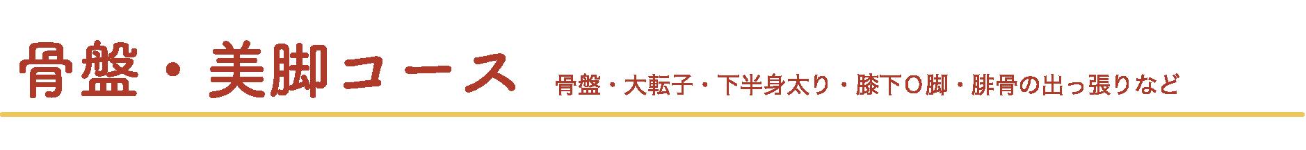 midashi 21 - 骨盤美脚コース